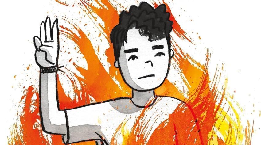 """""""FLAMER"""" di Mike Curato: il bruciante coraggio di vivere"""