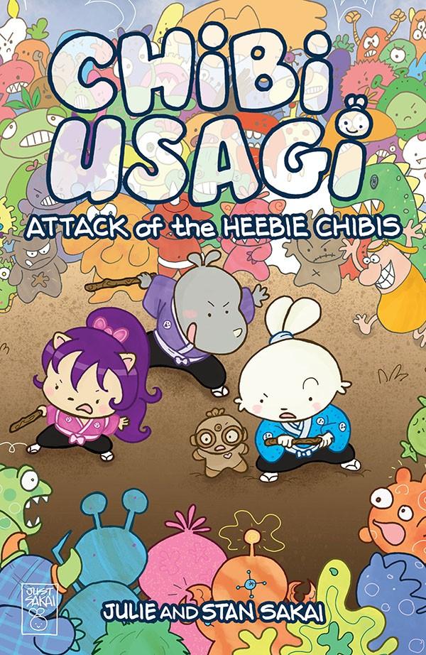 Chibi-Usagi - Attack of the Heebie Chibis