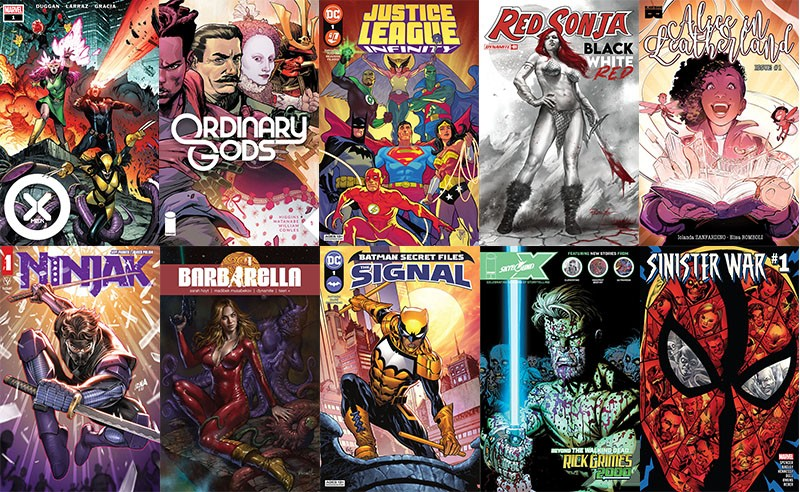 First Issue #89: leghe infinite, chiome rosse e divinità ordinarie