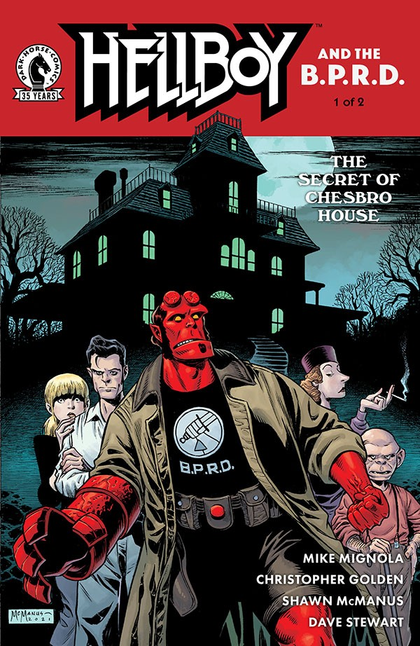 Hellboy and the B.P.R.D. - The Secret of Chesbro House 1