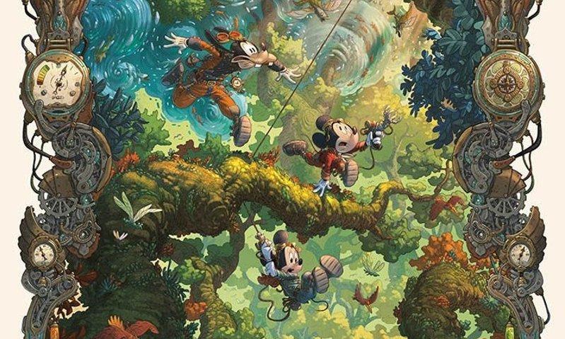 L'oceano perduto: un'avventura steampunk di Topolino