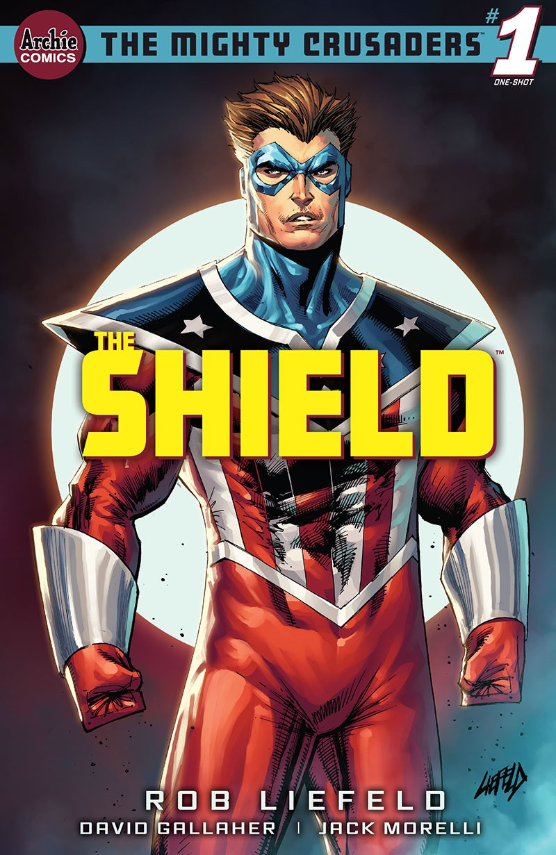 Mighty Crusaders - The Shield 1