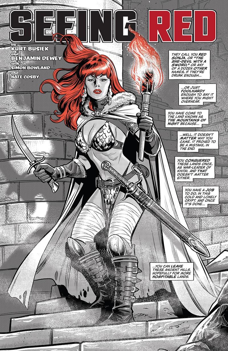 Red Sonja - Black, White, Red 001-022