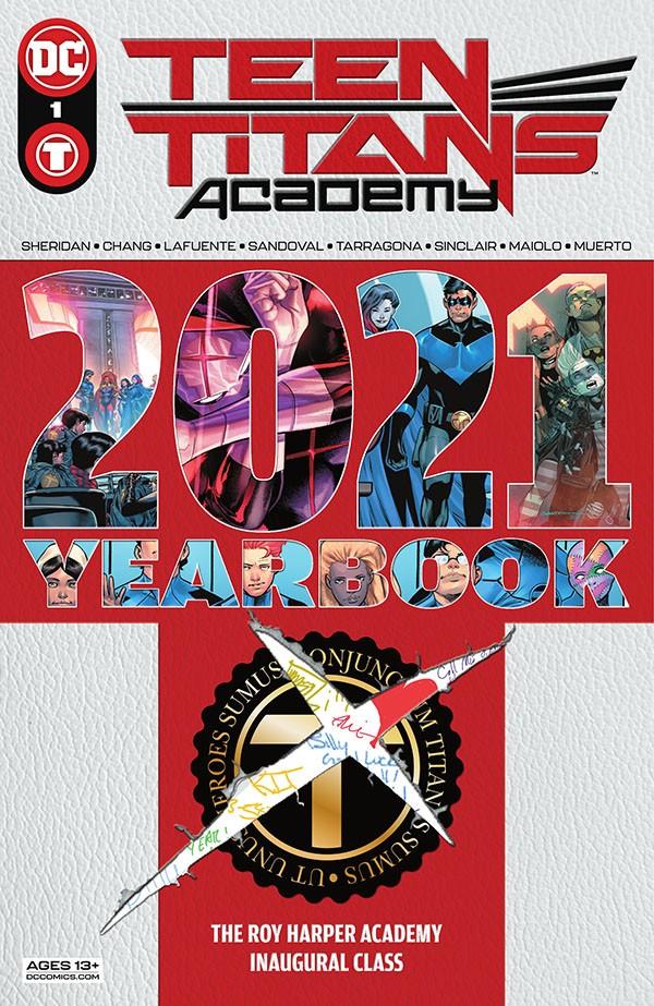 Teen Titans Academy 2021 Yearbook