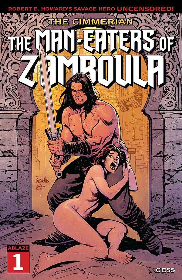 The Cimmerian - The Man-Eaters Of Zamboula 1