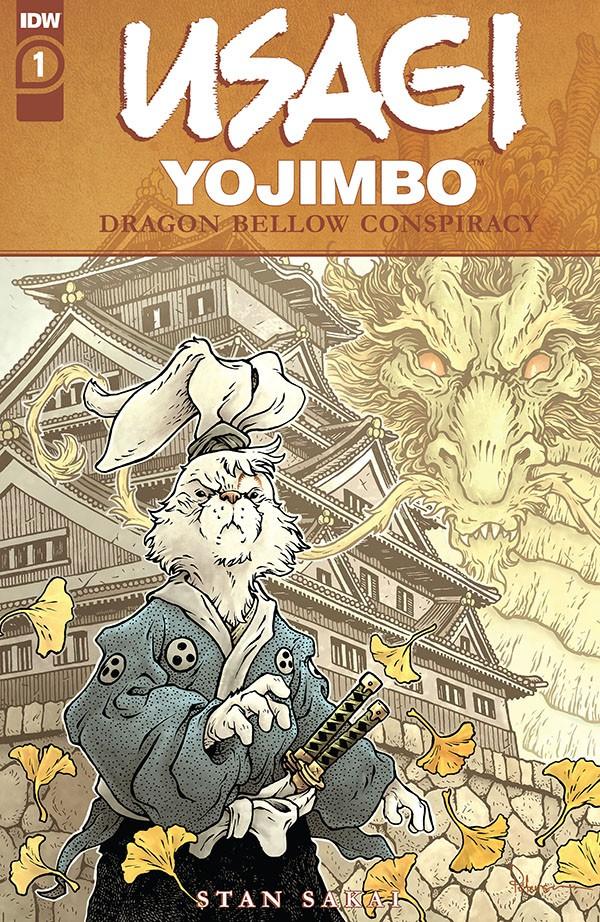Usagi Yojimbo - The Dragon Bellow Conspiracy 1
