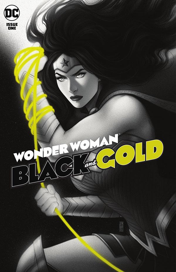 Wonder Woman Black & Gold 1