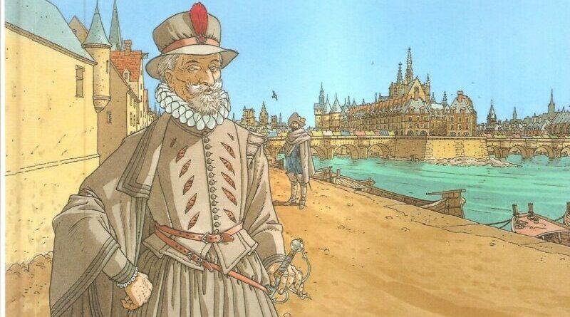 Patrick Cothias e André Juillard – Le 7 vite dello sparviero – Enrico IV