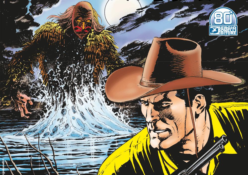 Tex #730 – Il mostro del Gran Lago Salato (Rizzo/Ruju, Benevento)