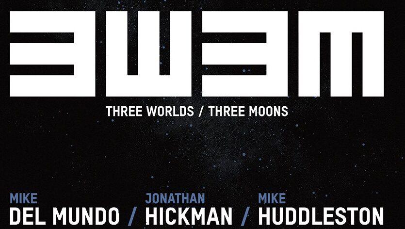 Cannocchiale puntato sui mondi e le lune di Jonathan Hickman