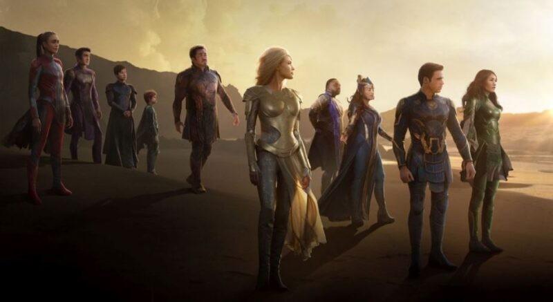 Eternals: rivelata la possibile durata del nuovo film Marvel Studios