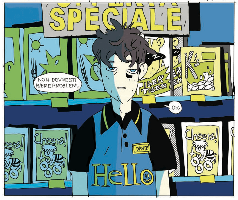 È in arrivo 24/7: il nuovo graphic novel diNova targato Bao