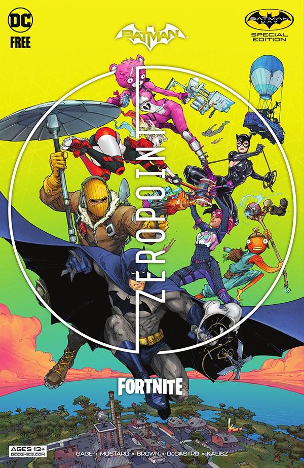 Batman-Fortnite - Zero Point Batman Day Special Edition
