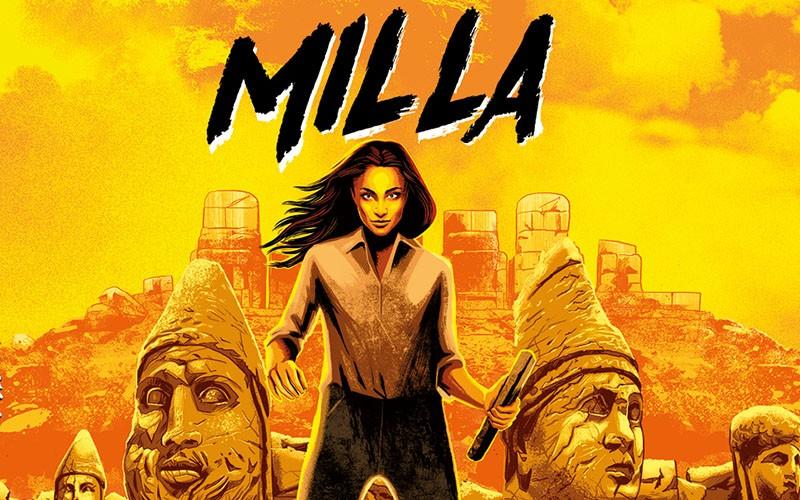 """NPE presenta """"Milla"""", l'eroina di un thriller a fumetti"""