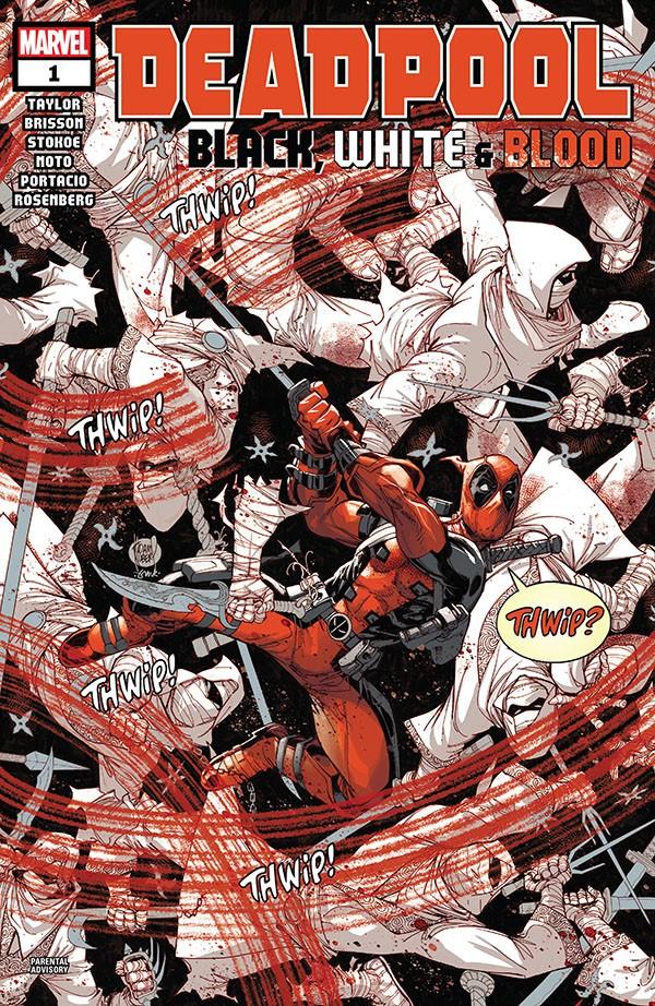 Deadpool - Black, White & Blood 1