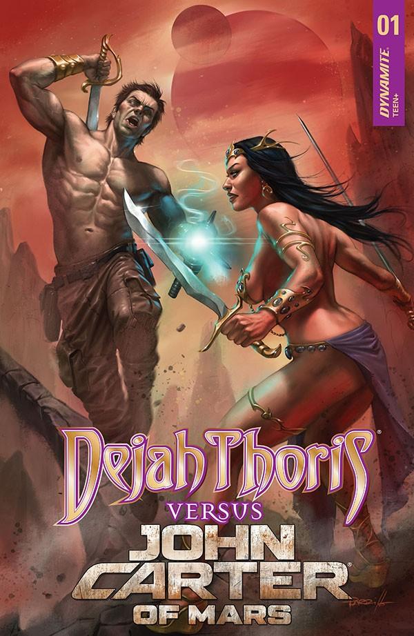 Dejah Thoris vs. John Carter of Mars 1