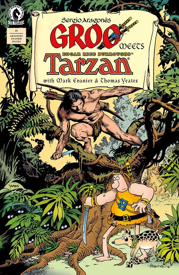 Groo Meets Tarzan 1