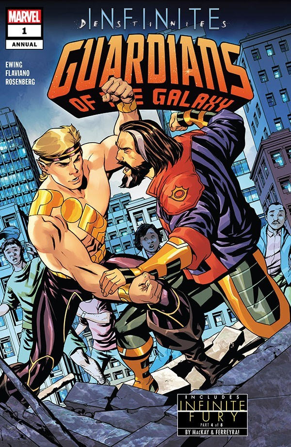 Guardians Of The Galaxy Annual 1