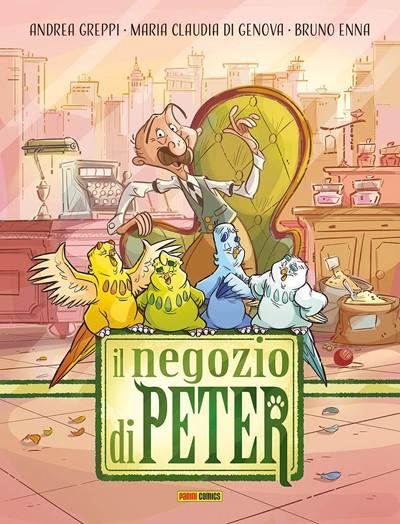 Il Negozio di Peter - copertina