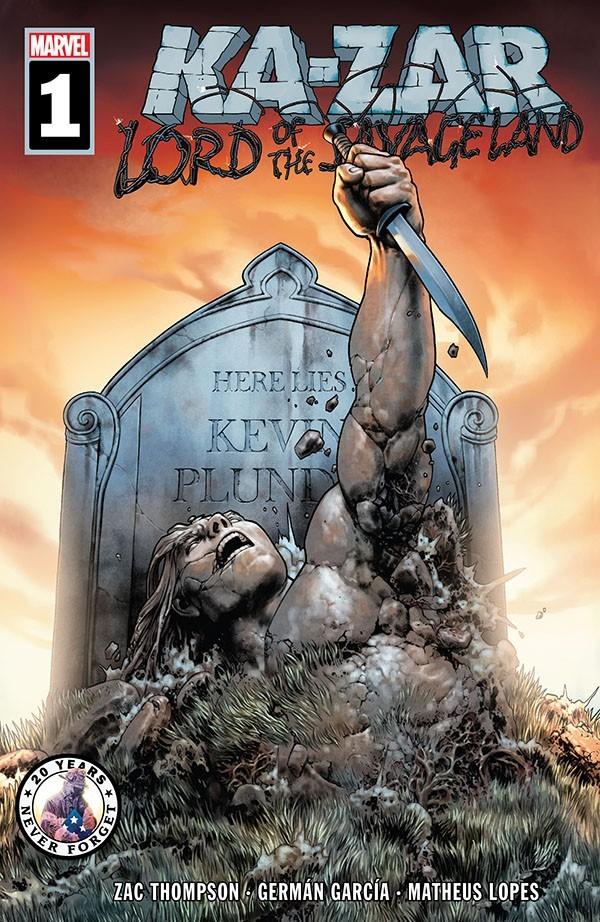 Ka-Zar Lord of the Savage Land 1