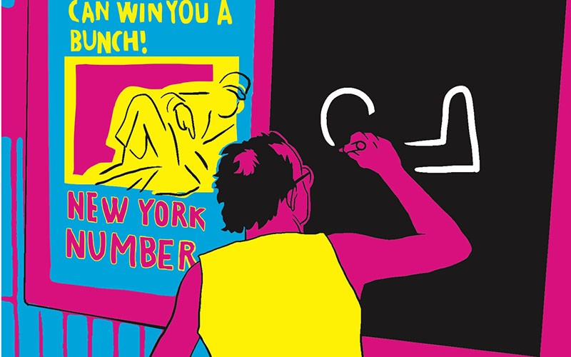 Keith Haring. Graphic Biography (Paolo Parisi)