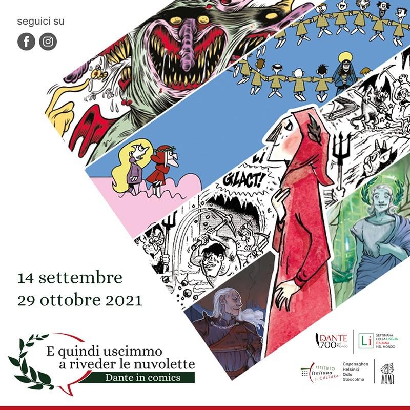 Locandina IG Dante in Comics
