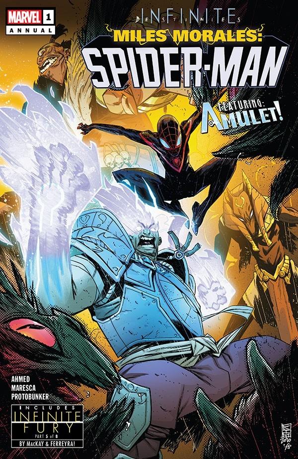 Miles Morales - Spider-Man Annual 1