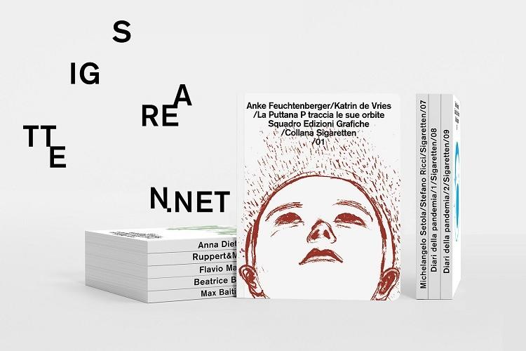 E' nata Sigaretten la nuova collana editoriale a fumetti di Squadro Stamperia Galleria d'Arte