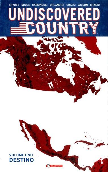 UNDISCOVERED COUNTRY copertina