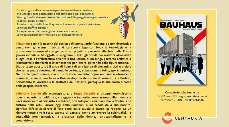 Valentina Grande e Sergio Varbella raccontano la Bauhaus in una graphic novel